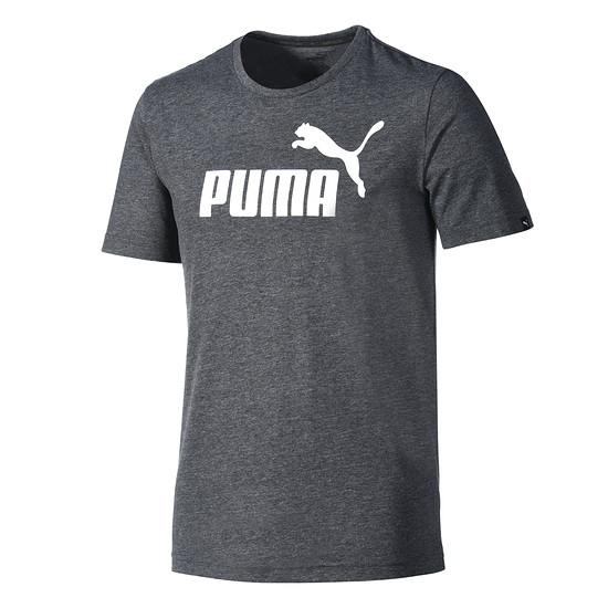 Puma T-Shirt ESS No. 1 Dunkelgrau