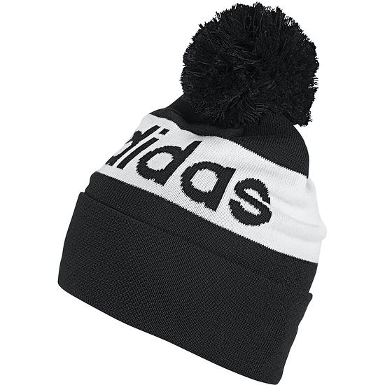 Adidas Mütze Woolie Logo Pom Schwarz