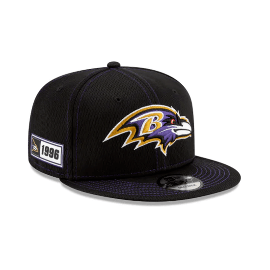 New Era Baltimore Ravens Cap On Field 9FIFTY schwarz