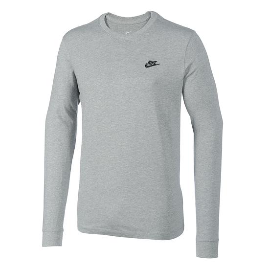 Nike Shirt Langarm Grau
