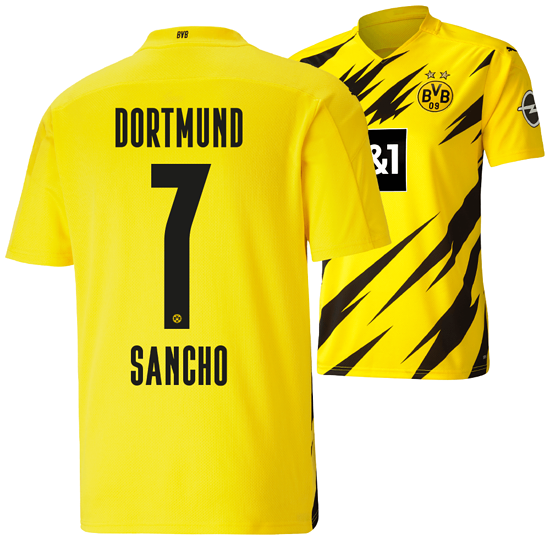 Puma Borussia Dortmund Heim Trikot SANCHO 2020/2021