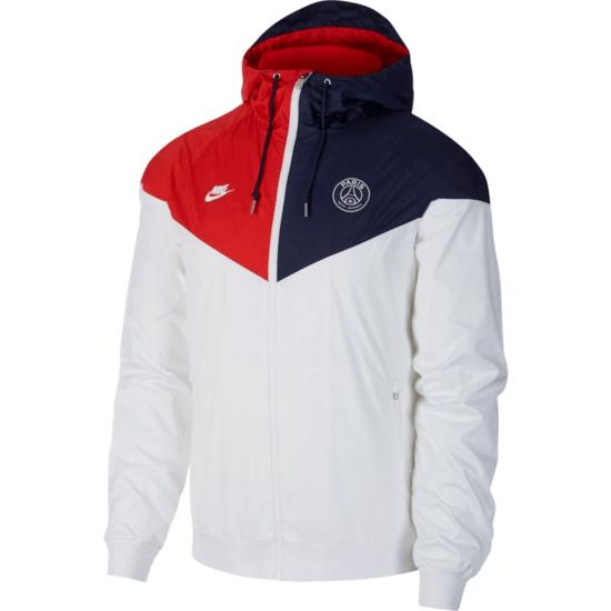 Nike Paris Saint-Germain Windrunner 2019/2020 Weiß