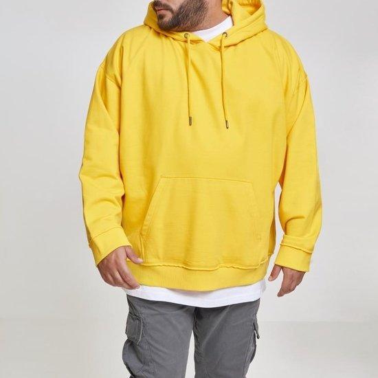 URBAN CLASSICS Hoodie Oversized Sweat gelb