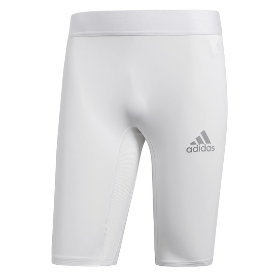 Adidas Short Tight Alphaskin CLIMALITE Weiß