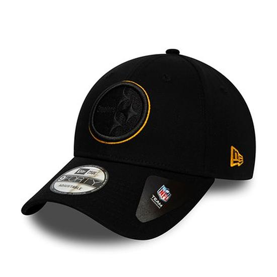 New Era Pittsburgh Steelers Cap Team 9FORTY schwarz
