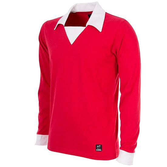 Copa Manchester United George Best 1970 Short Sleeve Retro Shirt