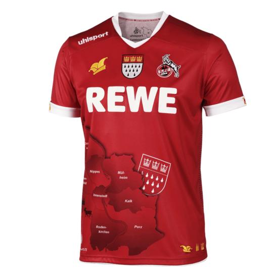 uhlsport 1. FC Köln Trikot 2019/2020 Fastelovend