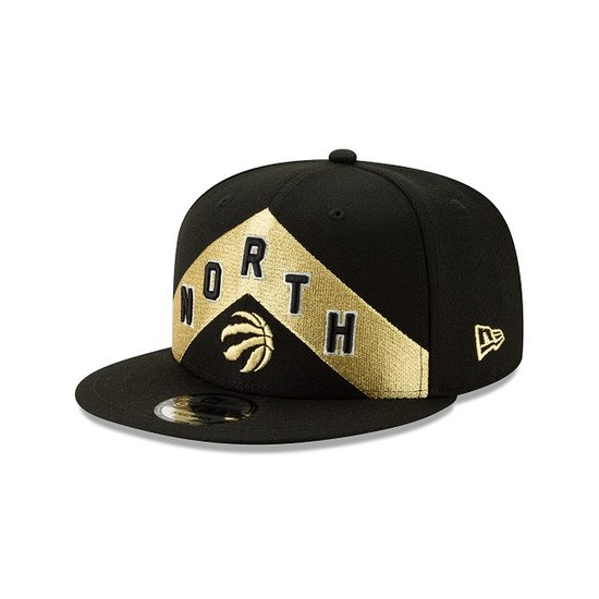 New Era Toronto Raptors Cap 9FIFTY Team schwarz