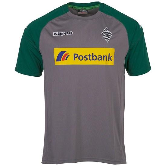 Kappa Borussia Mönchengladbach Trainingsshirt grau