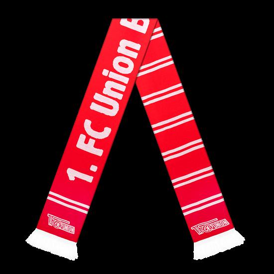1. FC Union Berlin Schal Streifen rot/weiß