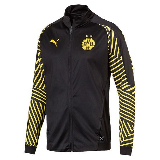 Puma Borussia Dortmund Stadionjacke schwarz