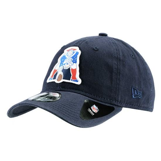 New Era New England Patriots Cap Patch 9FORTY blau