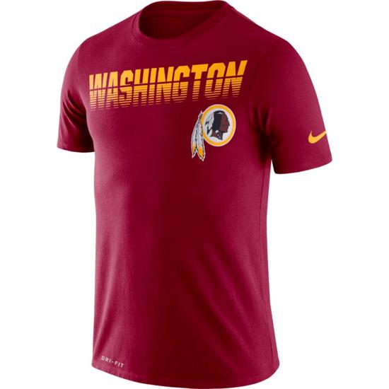 Nike Washington Redskins T-Shirt NK 2019/2020 Rot