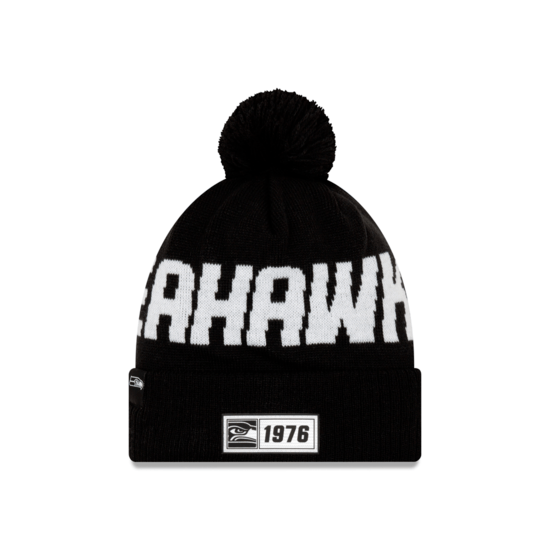 New Era Seattle Seahawks Beanie Sport Knit RD schwarz