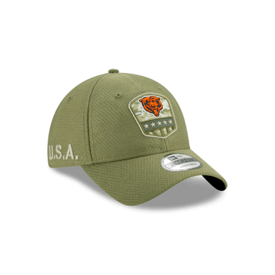 New Era Chicago Bears Cap Salute To Service 9TWENTY oliv