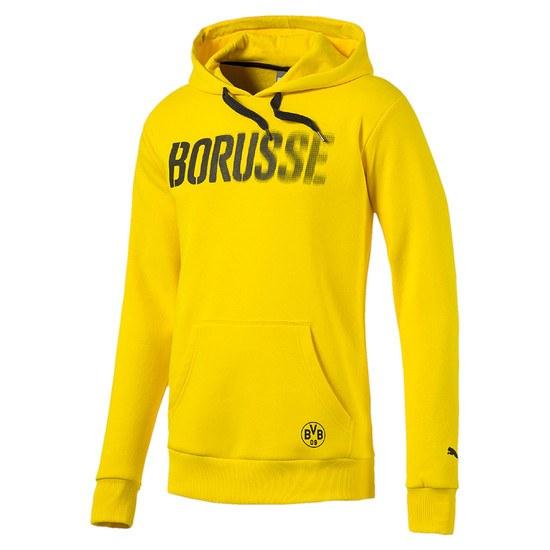 Puma Borussia Dortmund Hoodie BORUSSE Kinder Gelb