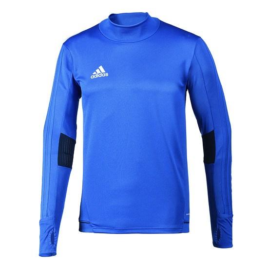 Adidas Trainingsshirt Langarm Tiro Blau