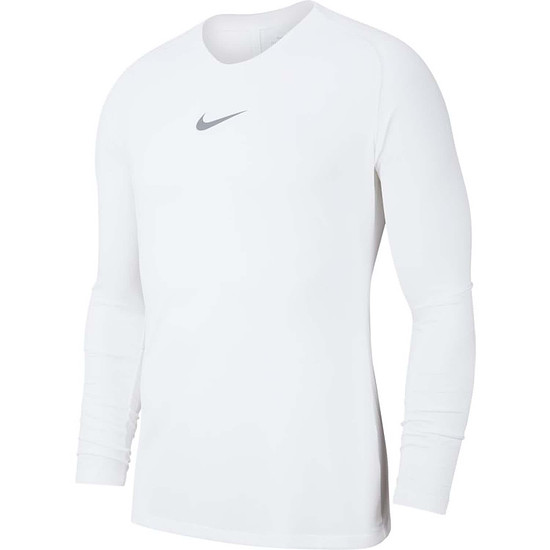 Nike Dri-FIT First Layer Park Langarm Funktionsshirt Weiß