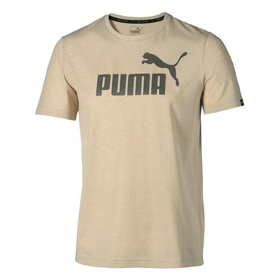 Puma T-Shirt ESS No. 1 Sand