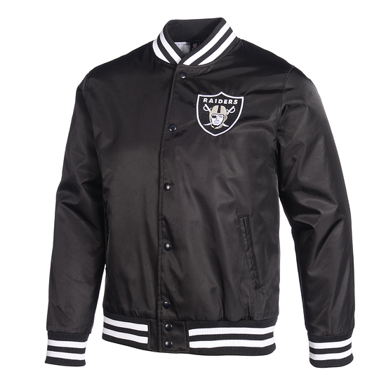 New Era Oakland Raiders Bomberjacke Wordmark schwarz