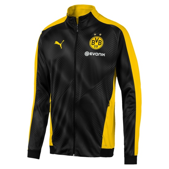 Puma Borussia Dortmund Stadionjacke Kurve Gelb