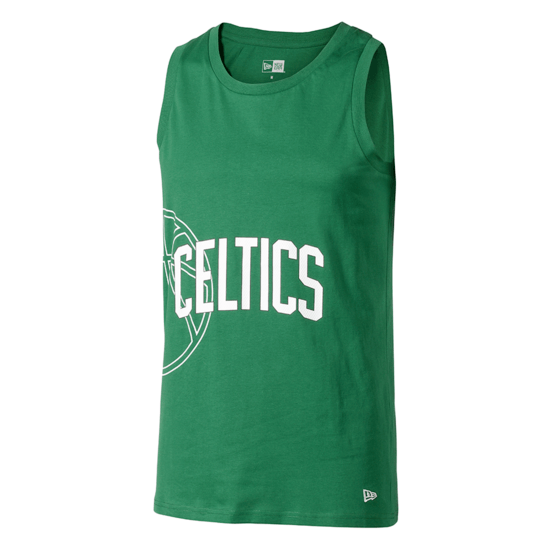 New Era Boston Celtics Tanktop Graphic Basketball grün