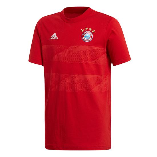 Adidas FC Bayern München T-Shirt 2019/2020 Kinder Rot