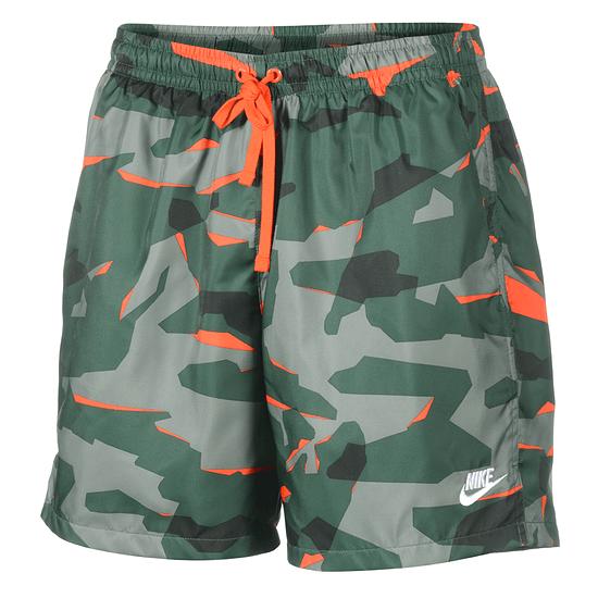 Nike Freizeit- und Badeshorts CAMO Oliv