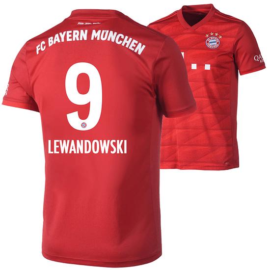 Adidas FC Bayern München Heim Trikot LEWANDOWSKI 2019/2020