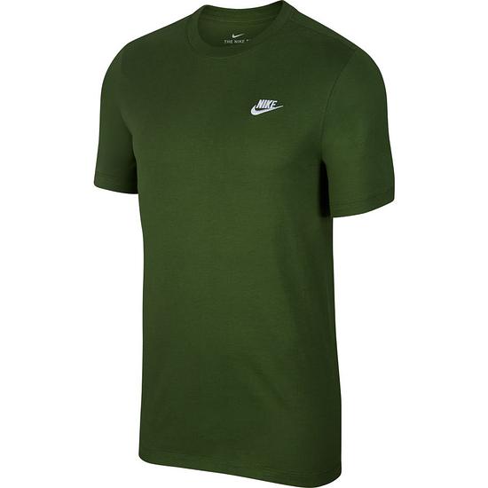 Nike T-Shirt Klassik Grün/Weiß
