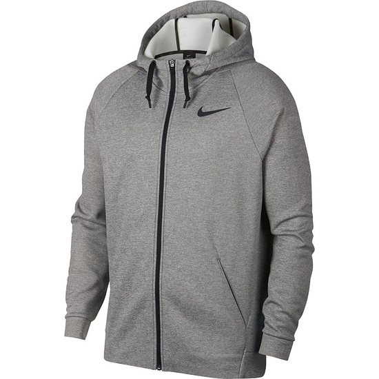 Nike Kapuzensweatjacke THERMA Grau