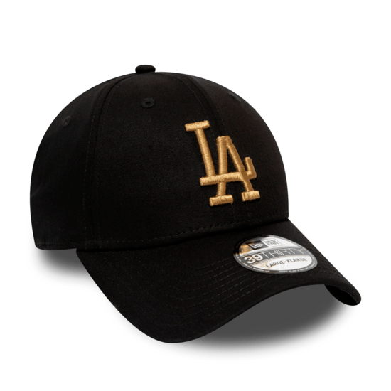 New Era Los Angeles Dodgers Cap League Essential 39THIRTY schwarz/weiß