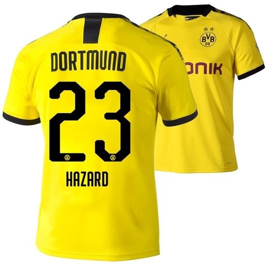 Puma Borussia Dortmund Heim Trikot HAZARD 2019/2020 Kinder