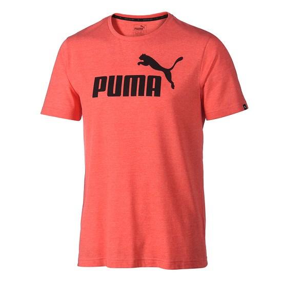 Puma T-Shirt ESS No. 1 Hellrot
