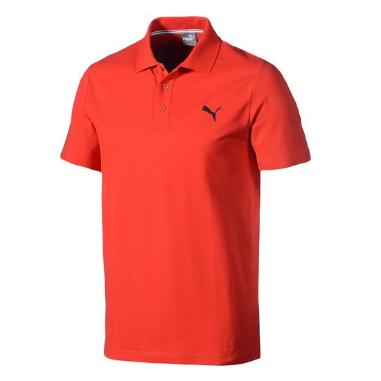 Puma Poloshirt ESS rot