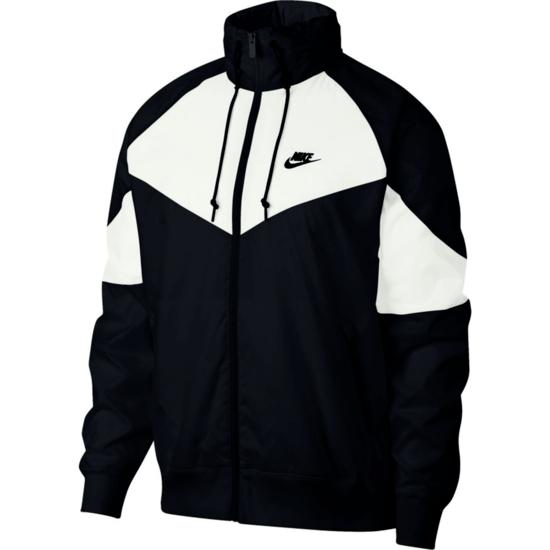 Nike Freizeitjacke Windrunner Schwarz/Weiß