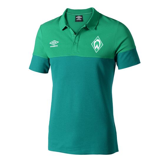 Umbro SV Werder Bremen Poloshirt 2019 Grün