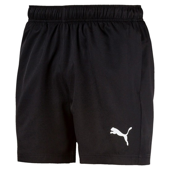 Puma Shorts Active Woven Schwarz