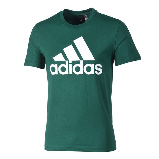 Adidas T-Shirt ESS Linear grün/weiß