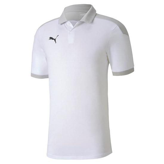 Puma Poloshirt Team FINAL 21 Weiß