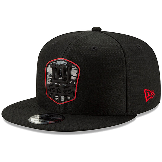 New Era New York Giants Cap Salute To Service 9FIFTY schwarz