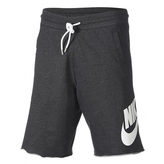 Nike Shorts Sportswear dunkelgrau/weiß