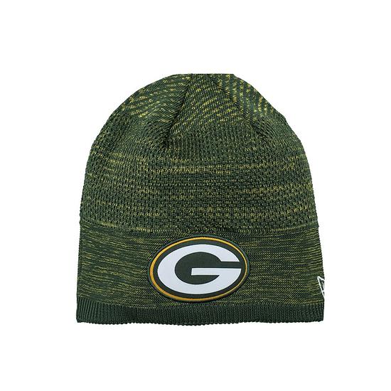 New Era Green Bay Packers Beanie On Field Tech Knit grün