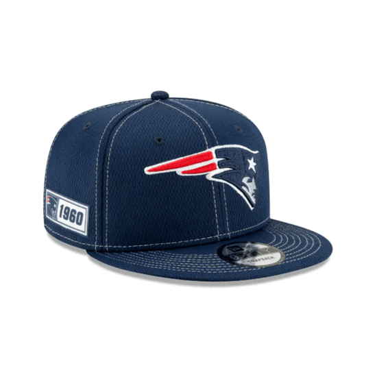 New Era New England Patriots Cap On Field 9FIFTY blau