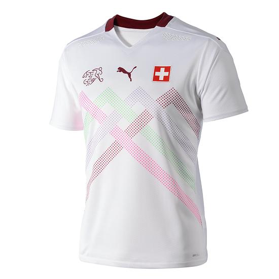 Puma Schweiz Authentic Trikot Auswärts EM 2021