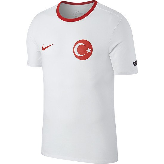 Nike Türkei T-Shirt Football Weiß
