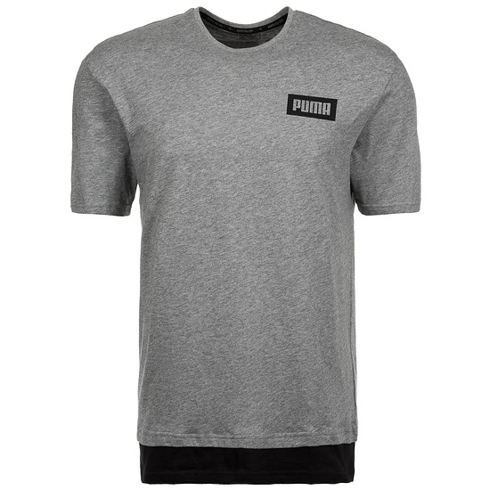 Puma T-Shirt New Rebel Grau