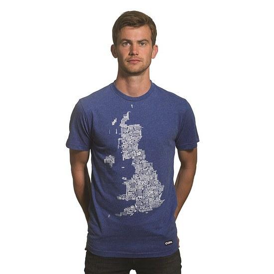 Copa T-Shirt UK Grounds blau