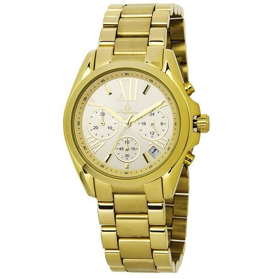 Burgmeister Damen Chronograph Carolina gold
