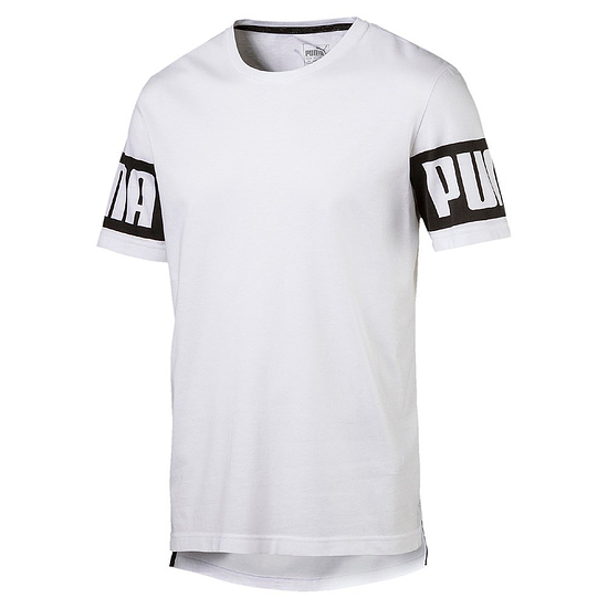 Puma T-Shirt Rebel Weiß